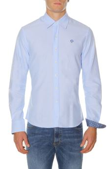 Camicia Uomo North Sails L/S Slim 663437 AISN