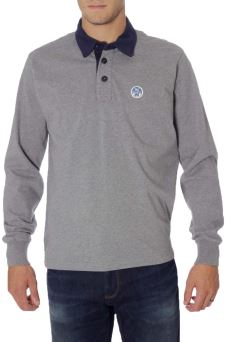 Polo Uomo L/S 036 Jean North Sails 69-4313