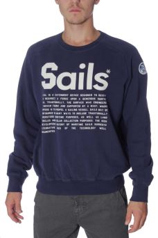 Felpa Uomo Crew Neck 070 Felix North Sails 69-4323