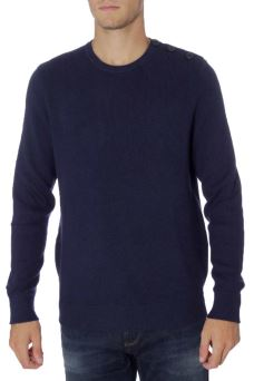 Maglia Uomo Crew Neck Buttons 049 Keith North Sails 69-8266