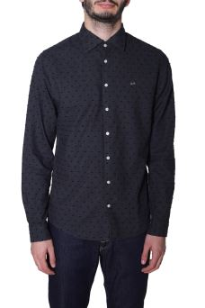 Camicia Uomo Dot French Sun68 S29111 AISD
