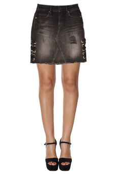 Gonna Punk Mini Skirt Guess W84D60D3BM0 AISN